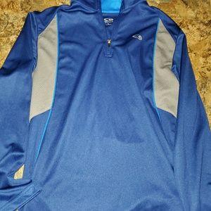 Champion half zip up shirt